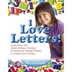 I Love Letters! by Dr. Jean Feldman